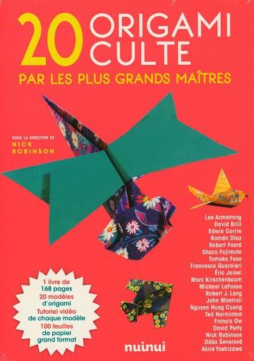 20 origamis cultes par les plus grands maitres   9782889357703