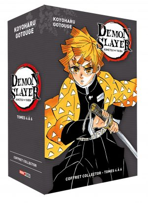 Demon slayer - coffret  T.04 a 06 | 9782809492507