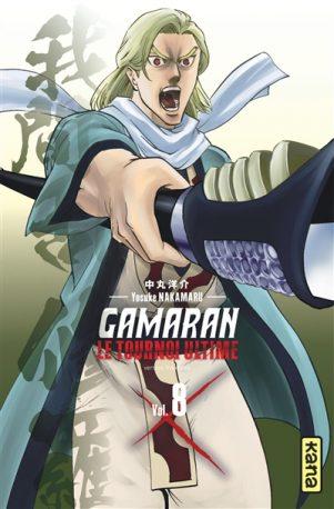 Gamaran - Le tournoi ultime T.08   9782505086888