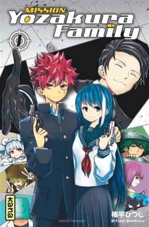 Mission Yozakura family T.01 | 9782505089964