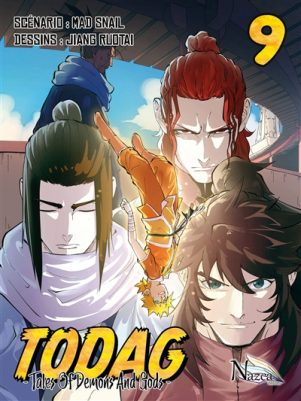 TODAG - Tales of Demons and Gods T.09   9782902487127