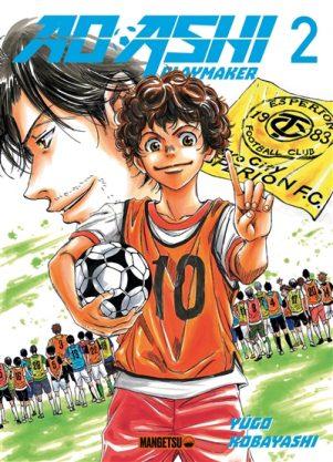 Ao ashi playmaker T.02 | 9782382810415