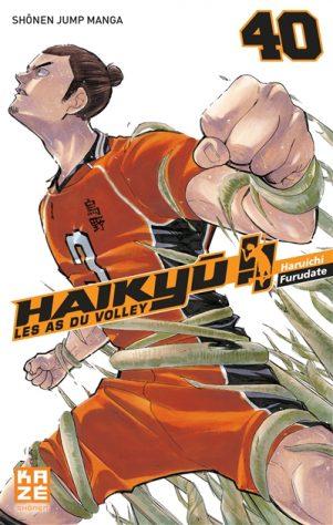 Haikyu, les as du volley T.40 | 9782820340702