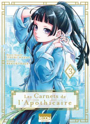 Carnets de l'apothicaire (Les) T.03   9791032707975