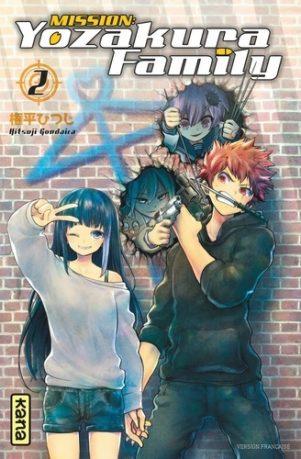 Mission Yozakura family T.02 | 9782505089971