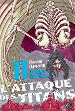 Attaque des Titans (L') - Ed. Colossale T.11 | 9782811664626